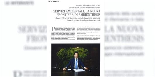 Giovanni Bozzetti - Servizi ambientali, la nuova frontiera di Ambienthesis
